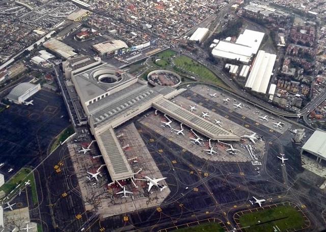 El Aeropuerto Internacional Benito Juárez