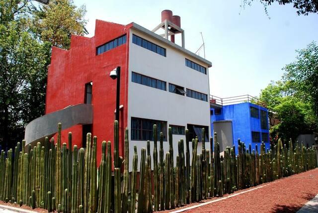 Casa Diego Rivera y Frida Kahlo