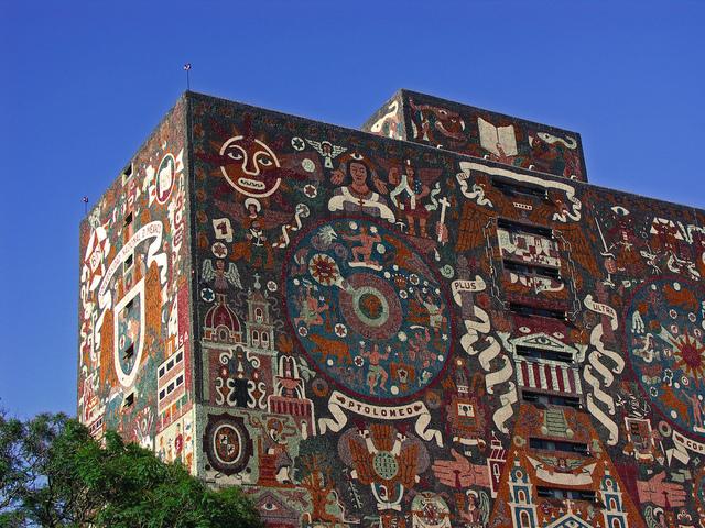 La Biblioteca Central de la UNAM