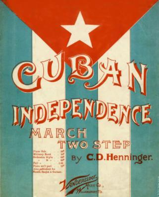 Cuban 1 war for Independence