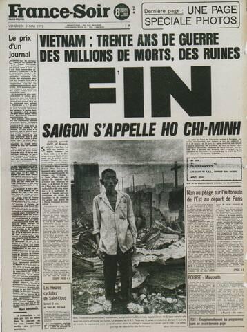 Fin de la guerre du Vietnam