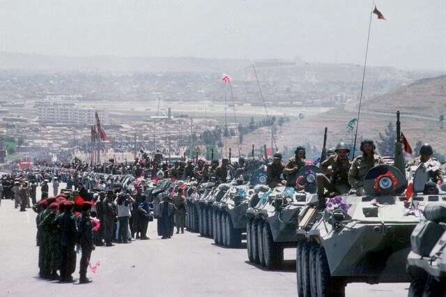 Retrait des forces soviétiques d'Afghanistan