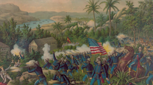 Cuba's second war for independence in 1895