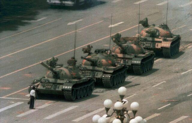 Répression à la Place Tien An Men