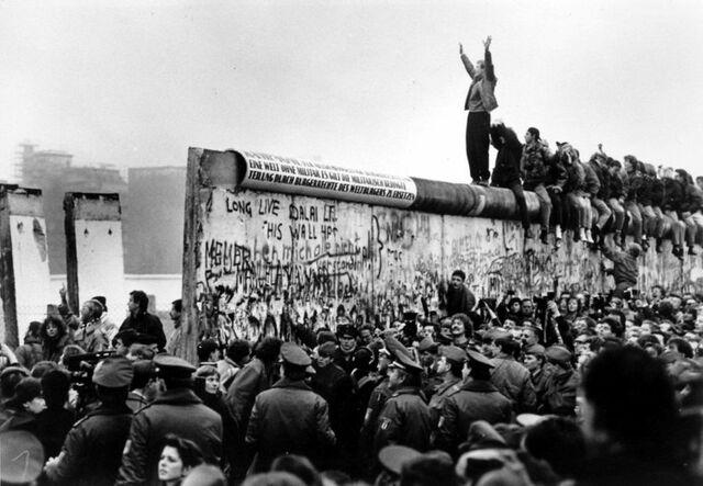 Chute de Mur de Berlin