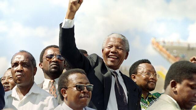 Fin de l'Apartheid