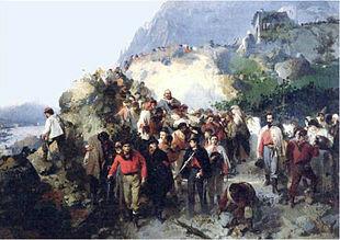 La spedizione in Aspromonte