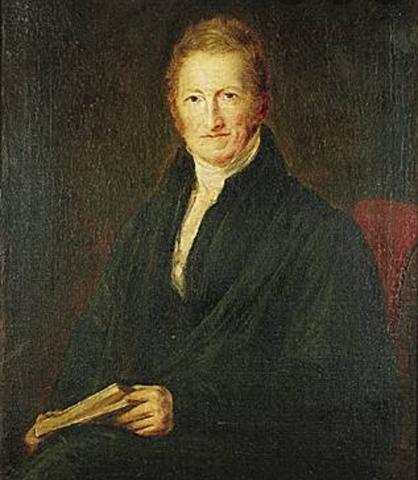 Thomas Malthus: 1798