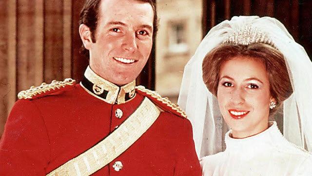 Divórcio da princesa Anne e do capitão Mark Phillips