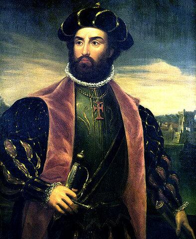 3º viaje de Colón. Vasco da Gama llega a la India
