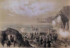 Núñez de Balboa descubre el océano Pacífico