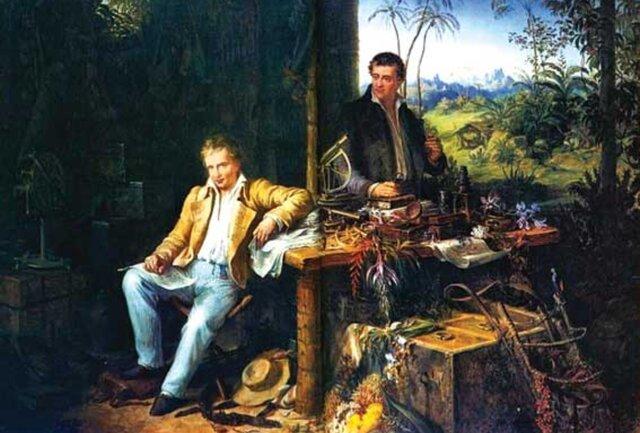 Von Humboldt y Willdenow: 1804