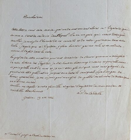 A. Candolle y A. Candolle: 1856