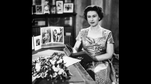 Primeira transmissão de natal feita por um integrante da família real
