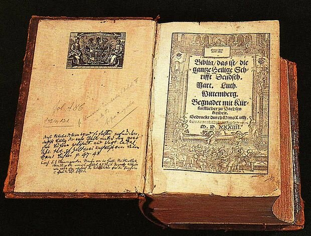 Luther Bible Published