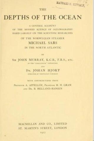 Murray y Hjort: 1912