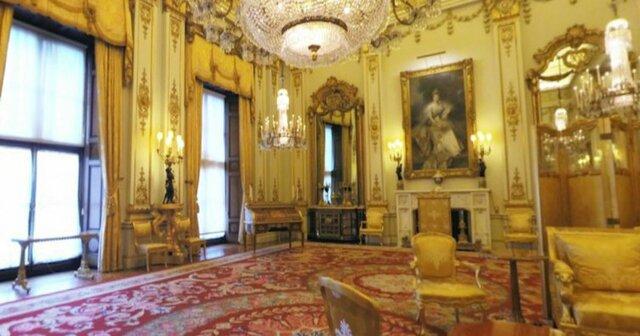 Tour online pelo palácio de Buckingham