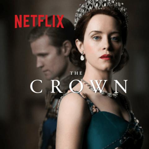 É criada a primeira série baseada na vida da rainha Elizabeth II