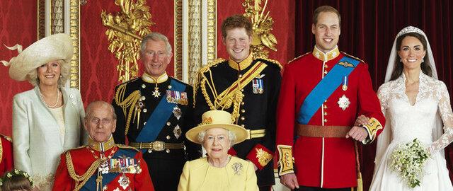 Grande atualização no site da família real