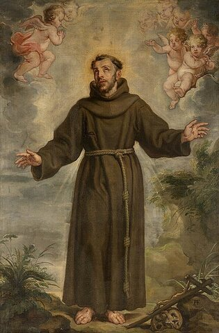 Death of St. Francis of Assisi
