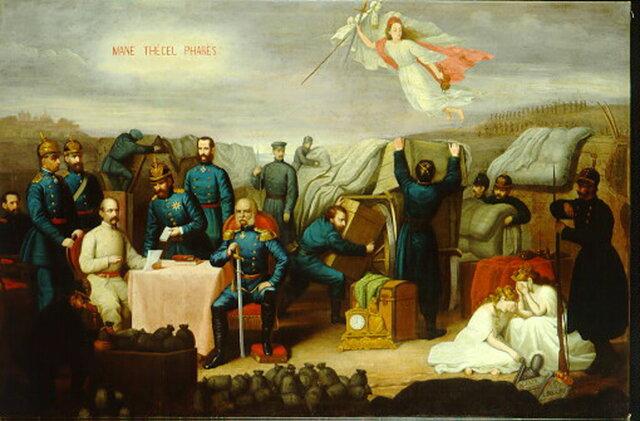 Culminación de la Unificación Alemana a través del Tratado de Fráncfort (10/May/1871).
