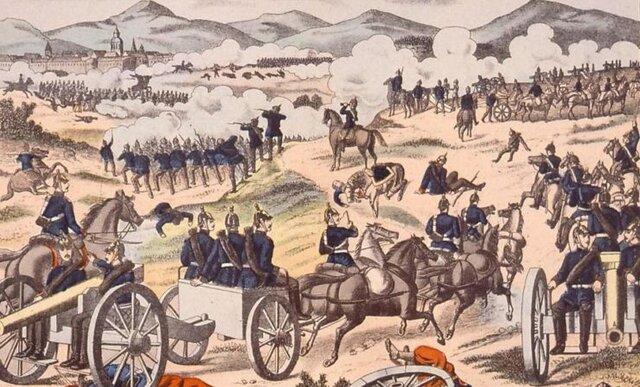 La Batalla de Sedán (01/Sep/1870).