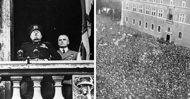 L'Italia entra in guerra al fianco della Germania