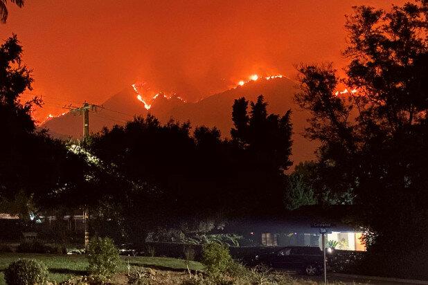 Incendis forestals de la costa oest