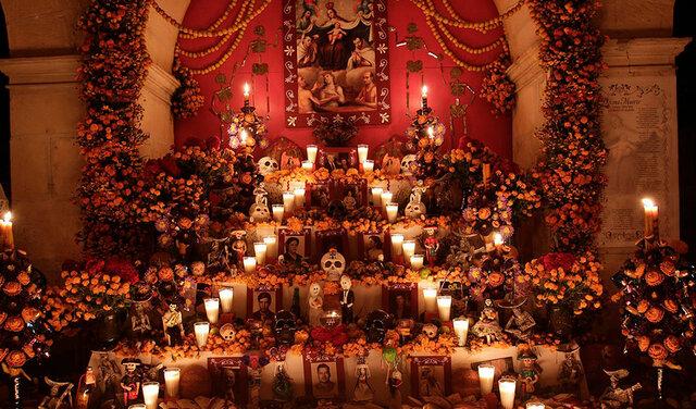 Conmemoración del Día de los Muertos en las comunidades indígenas mexicanas