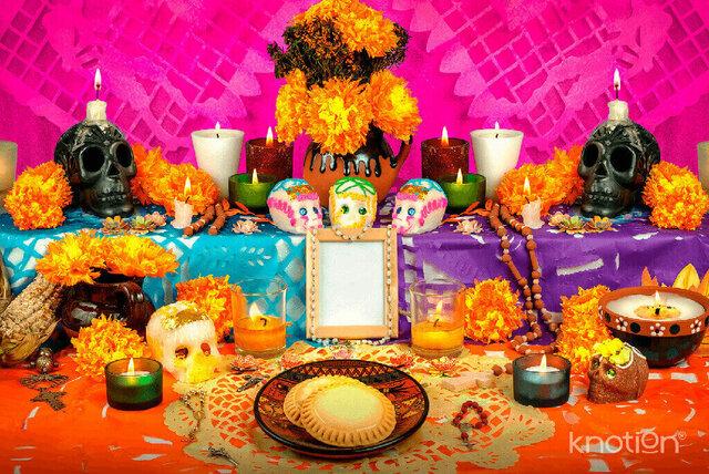 Fiestas indígenas dedicadas a los muertos