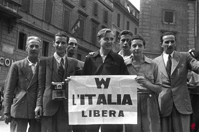 L'Italia viene liberata