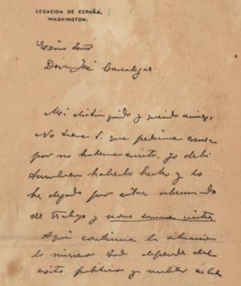 Publication of the De Lóme Letter