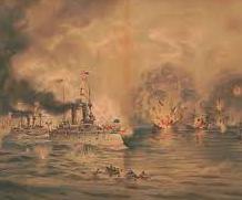 US Attack on Manila Bay