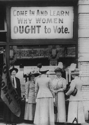 Colorado Allows Women to Vote in School Elections