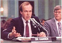Dr. James Hansen detects Global Climate Change