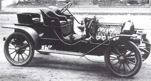 The First American Automobile is Invented