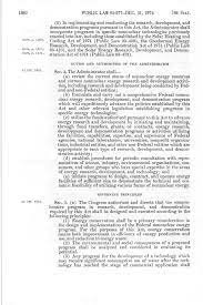 The Solar Energy Research, Development, and Demonstration Act of 1974