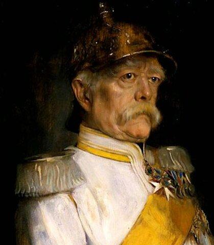 Nombramiento de Otto von Bismarck como primer Ministro de Prusia (1862).