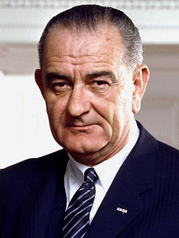 EUA / Lyndon B. Johnson (1963-69) [Demòcrata]