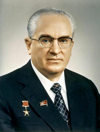 URSS / Yuri Andrópov (1982-84)