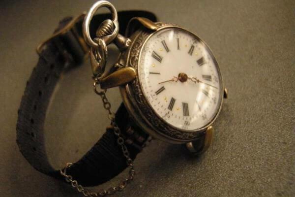 El reloj de pulsera