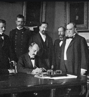 Armistice Signed Between the US and Spain