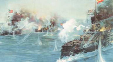 Destruction of Spanish Fleet in Cuba