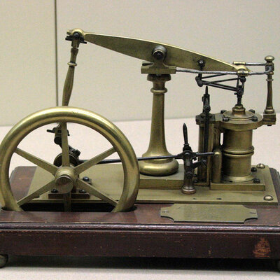 The timeline of the first steam engine