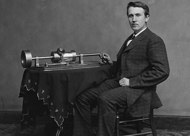 Изобретение фонографа