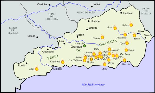 (Felip II)Rebel·lió dels moriscos