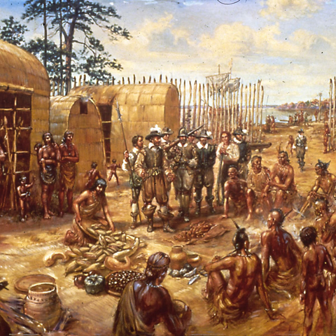 The First Permanent English Settlement is Established