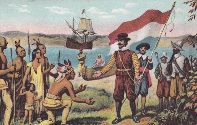 Discovery of Manhattan Island