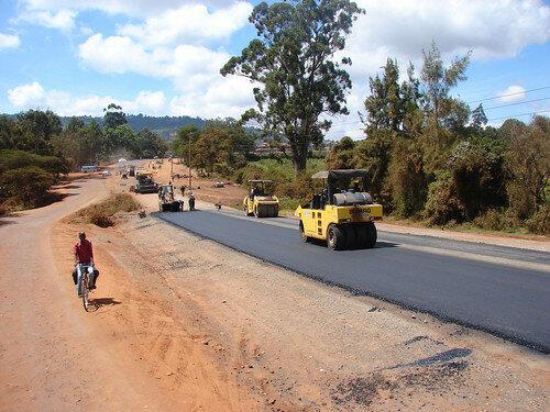 Apertura de la carretera