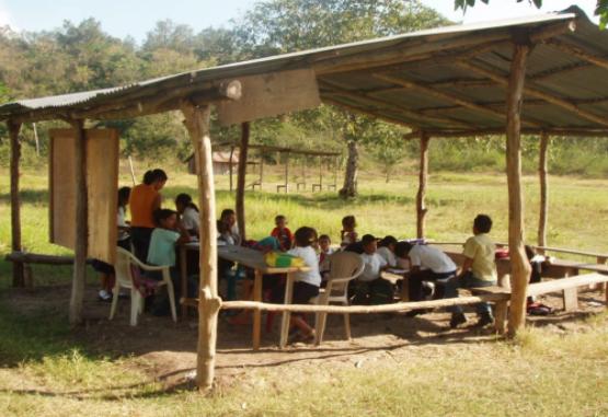 Creación de escuela rural
